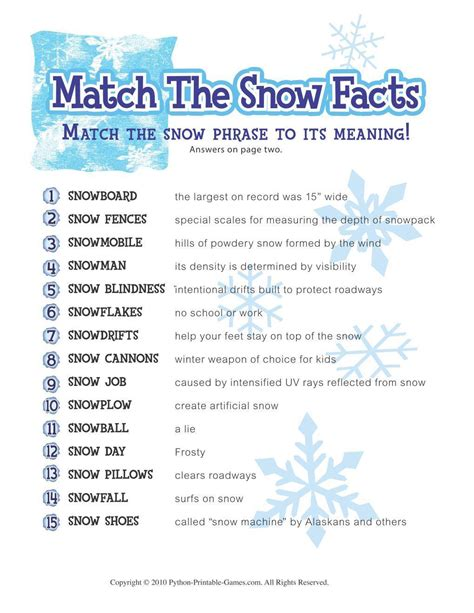 craftdrawer crafts free printable winter game match the