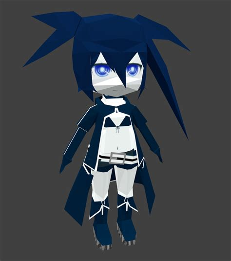 Black Rock Shooter Papercraft - black rock shooter papercraft by goncalo neto on deviantart