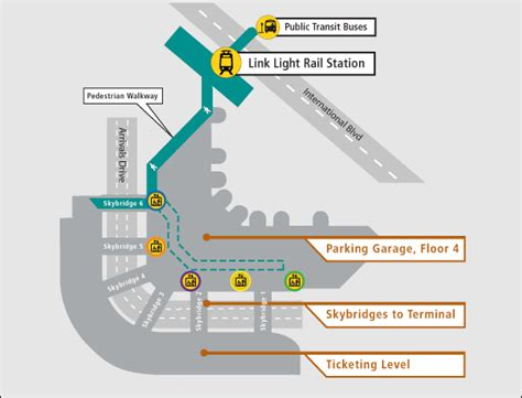 seattle light rail route link light rail to ferry ssafr 2017