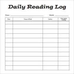 reading log template reading log template cyberuse