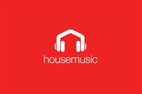 create house music house music headphones logo design logo cowboy
