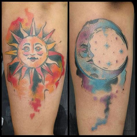 sun and moon best friend tattoos best friend tattoos for bff matching friendship tattoos