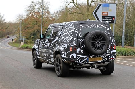 Jeep Defender 2020 by 2020 Land Rover Defender Spied Transitions To Unibody