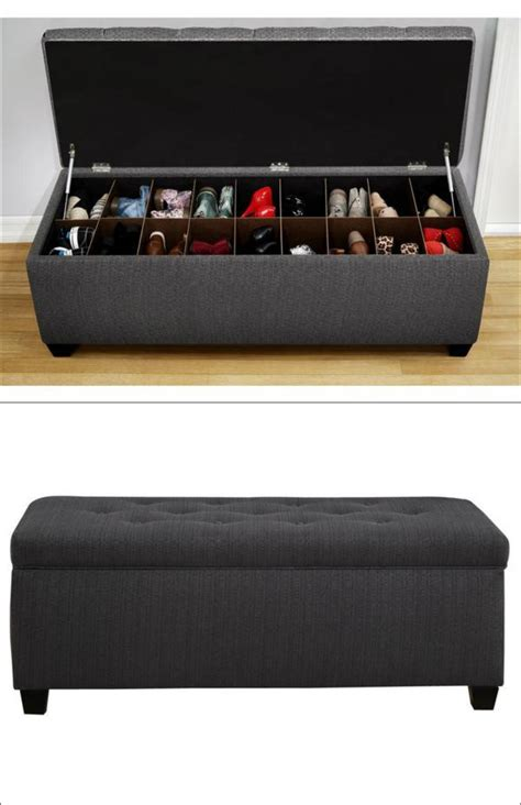 bench with storage for shoes ideas para guardar y organizar tus zapatos stop desorden
