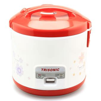 Magic Trisonic 1 8l trisonic t 707 a rice cooker 1 8l putih lazada indonesia