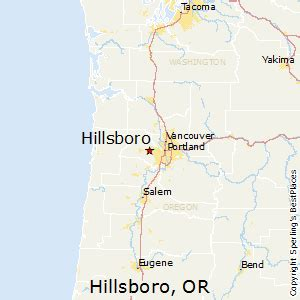 map of hillsboro oregon best places to live in hillsboro oregon
