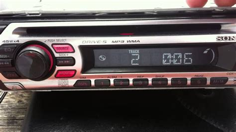 sony fm am compact disc player cdx gt210 wiring diagram fm
