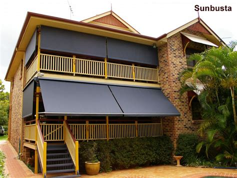 Sunesta Awnings by Sunesta And Sunbusta Awnings With Drop Arm System