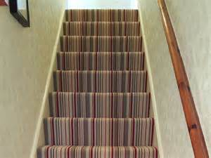 Stairs Striped Carpet by Striped Stair Carpet The Flooring Group
