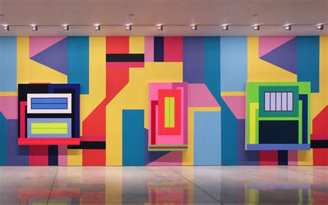 Painting A Wall Mural peter halley alessandro mendini collaborate at mary