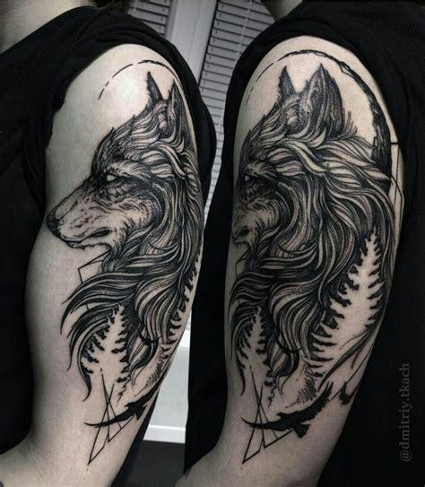 quarter sleeve wolf tattoo 25 best ideas about wolf tattoo sleeve on pinterest