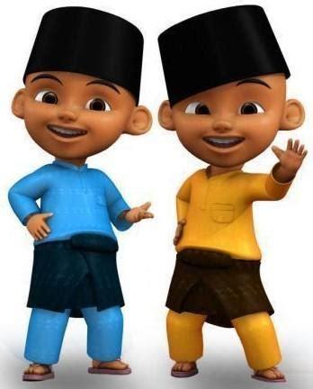 Boneka Upin myday boneka asli indonesia