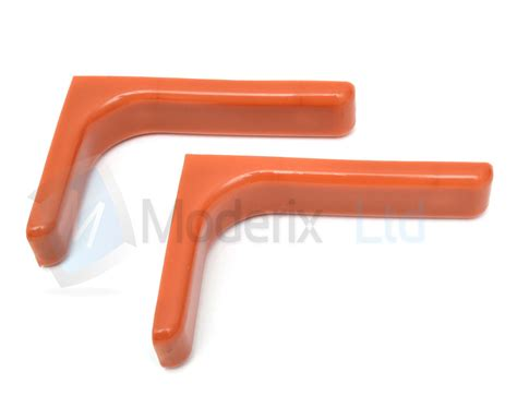 Concealed Shelf Fixings by Shelf Support Bracket With Covers 240mm Invisible