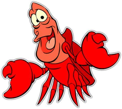 sebastian crab little mermaid cartoon car bumper vinyl