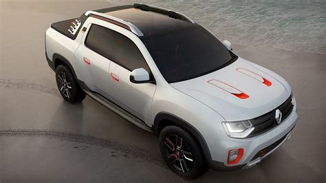 renault duster oroch renault turns duster into oroch pickup truck concept for