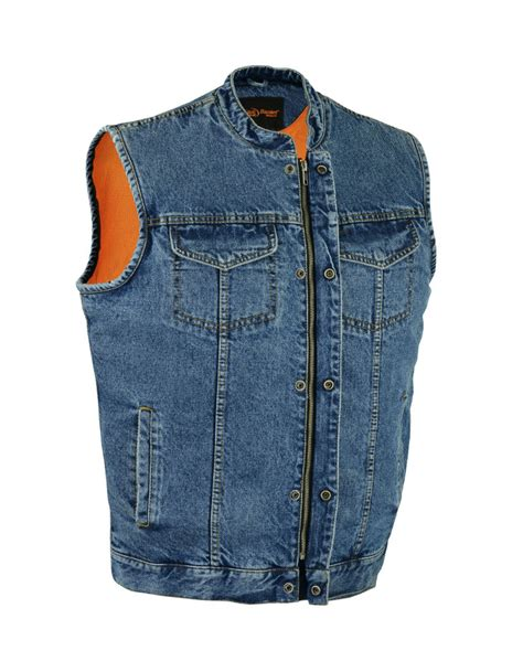 buy biker buy denim biker vest kamos t shirt