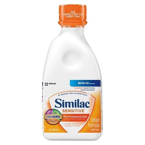 similac total comfort liquid similac 174 sensitive ready to feed liquid infant f target