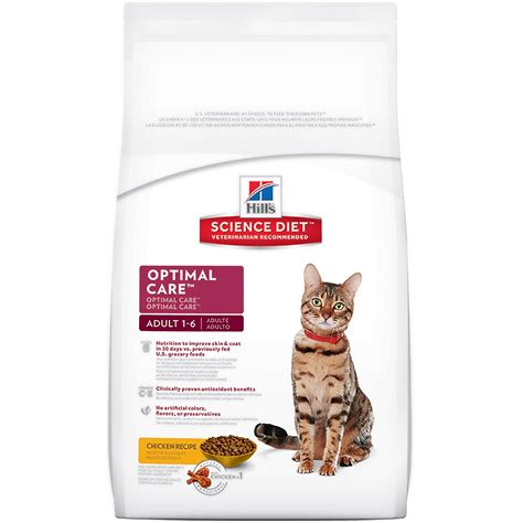 so cat food canada hill s science diet optimal care chicken recipe cat
