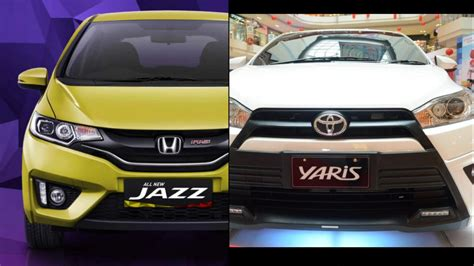 Perbandingan Spare Part Honda Dan Toyota perbandingan honda all new jazz dan toyota all new yaris