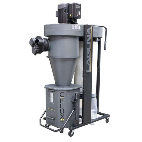 dust collector for woodworking c flux 3 cyclone dust collector laguna tools