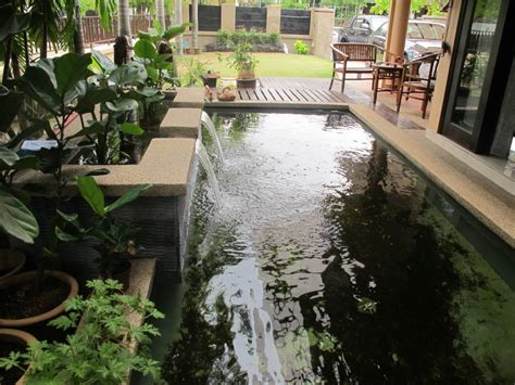 indoor fish pond design ideas indoor fish pond design with indoor garden