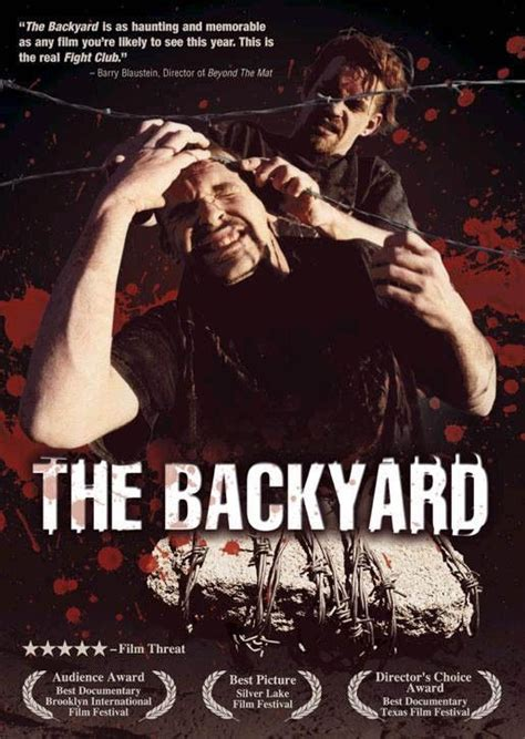 the backyard documentary the backyard movie poster imp awards