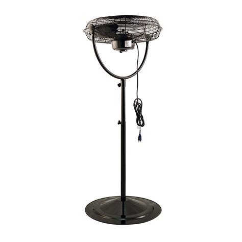 industrial pedestal fans for air king 20 inch 3 speed 1 6 hp adjustable height