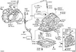 scion tc liftback g transmission pan atm