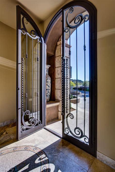 Front Door Double Door Iron Gate Design