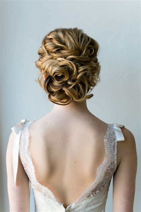 1000 ideas about curly wedding updo on easy