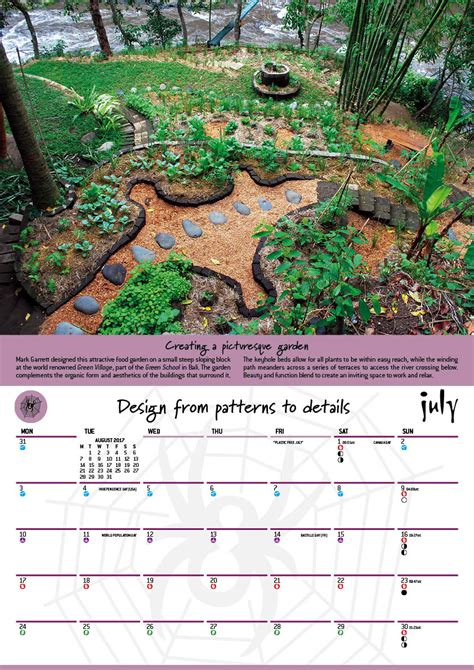 permaculture calendar  moon planting guide