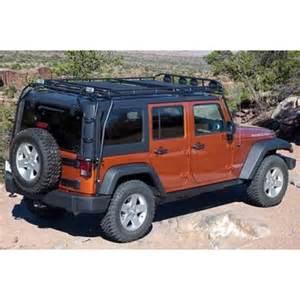 gobi jeep wrangler unlimited jk 07 up 4 door roof rack