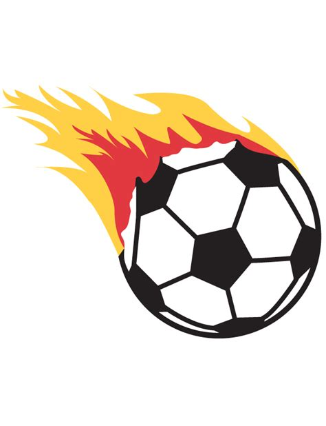 Free Clipart Flaming Soccer by Flaming Soccer Temporary Ships In 24 Hours