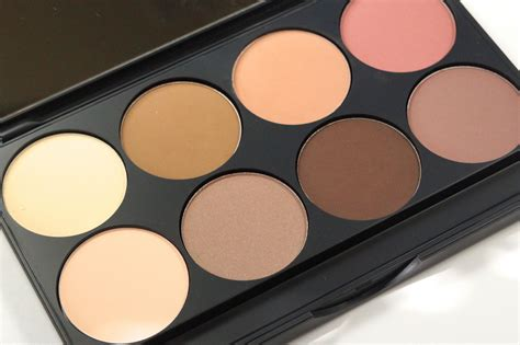 Pallete 8in1 Countur Shaddingfoundation gorgeous cosmetics contour palette collective