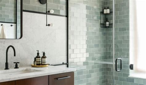 bathroom tiles brooklyn style on point a brooklyn townhouse with 3 totally different totally beautiful bathrooms