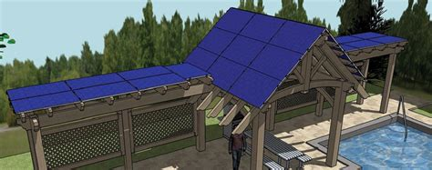 solar panel pergola 50 architectural landscaping trends for 2015 western