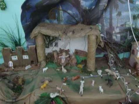 imagenes del nacimiento de jesus reciclado maqueta del nacimiento de jesucristo youtube