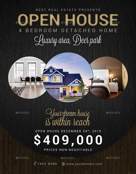 real estate open house flyer 10 real estate sale flyers design trends premium psd vector downloads