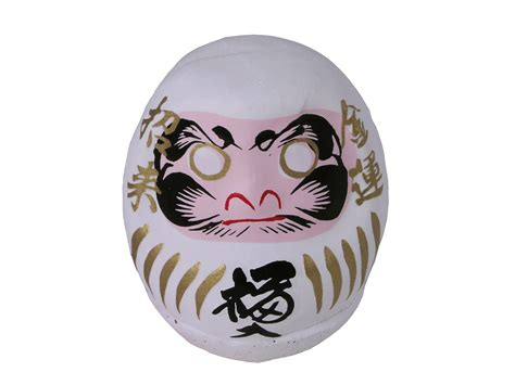 Kitchen Canisters Sets Lucky Japanese White Daruma Doll