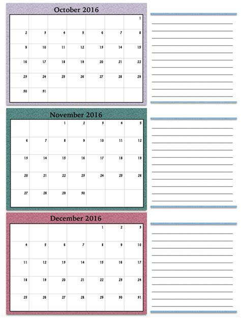 printable calendar first quarter 2016 calendars the housewife modern
