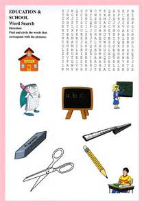 classroom items school puzzles for
