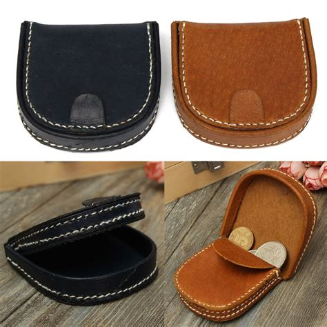 Leather Wallet Coin real leather coin wallet coins purse purse small