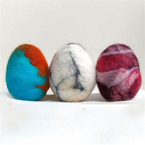 wool craft for felted easter eggs family crafts