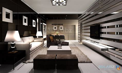 3d home interior design 3d rendeing interior view living room architecture