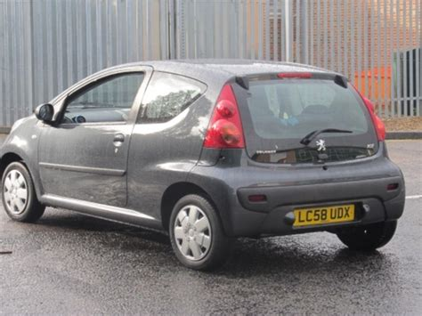 used peugeot for sale uk used peugeot 107 2008 petrol gray edition for sale in