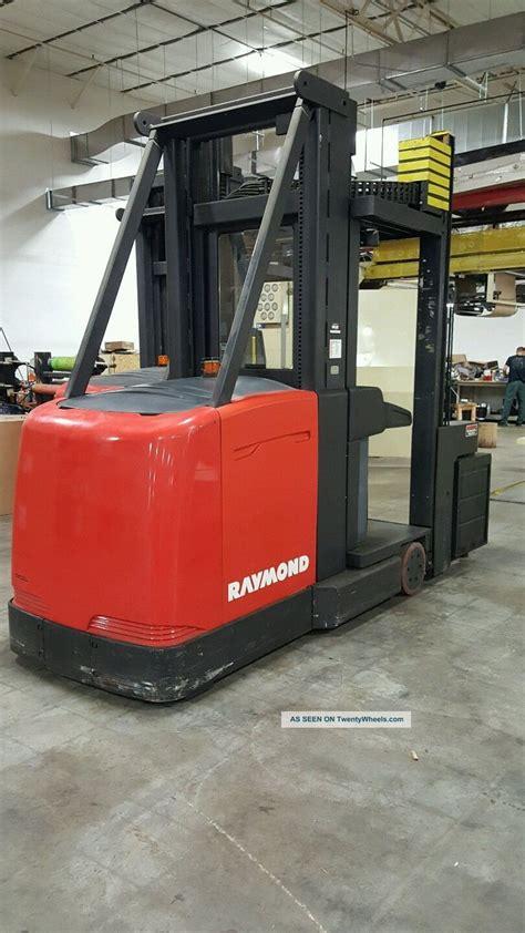 raymond swing reach truck raymond turret truck swing reach truck