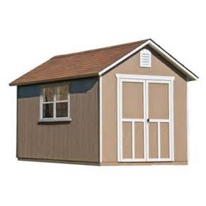 storage shed home depot handy home products meridian 8 ft x 12 ft wood storage
