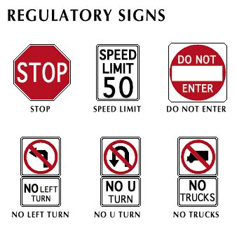 traffic control: regulatory signs students | britannica