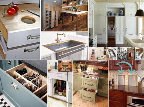 clever kitchen ideas حلول عملية للتخزين والترتيب في المطبخ مبدعة أفكار إبداعية لربة البيت الذكية