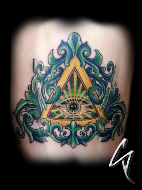altered images tattoo altered images tattoos part back all seeing eye